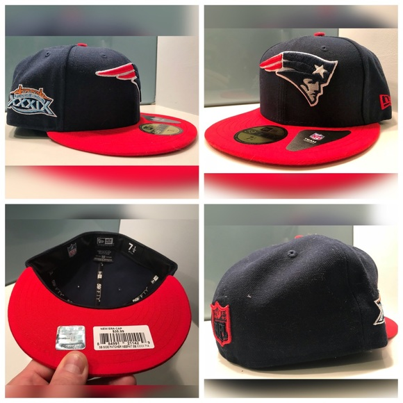 4442b4d93c75d1 New Era Accessories | Superbowl England Patriots Pats Fitted Hat ...